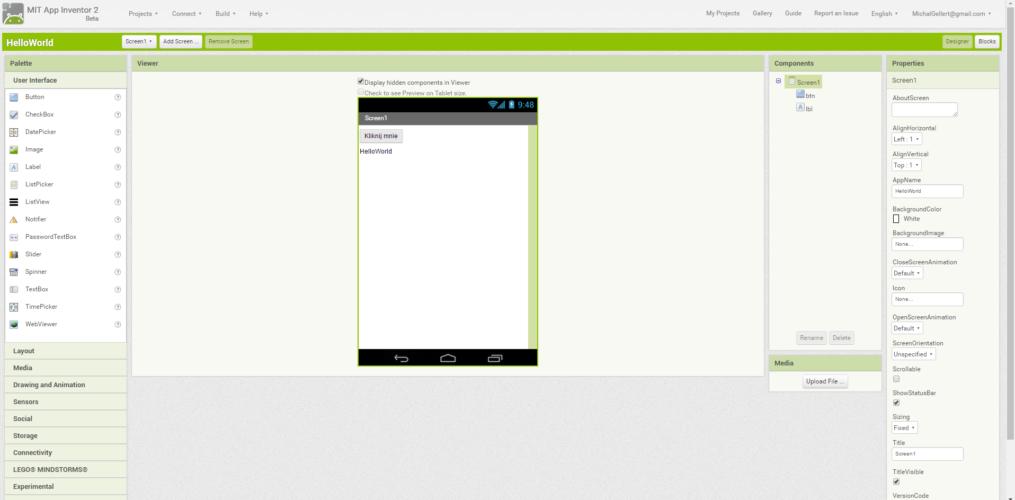 AppInventor - jak błyskawicznie i prosto tworzyć aplikacje Android