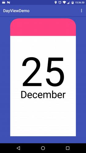 Finalna wersja kartki z kalendarza - DSP#18