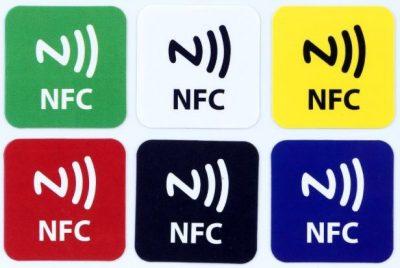 naklejki NFC